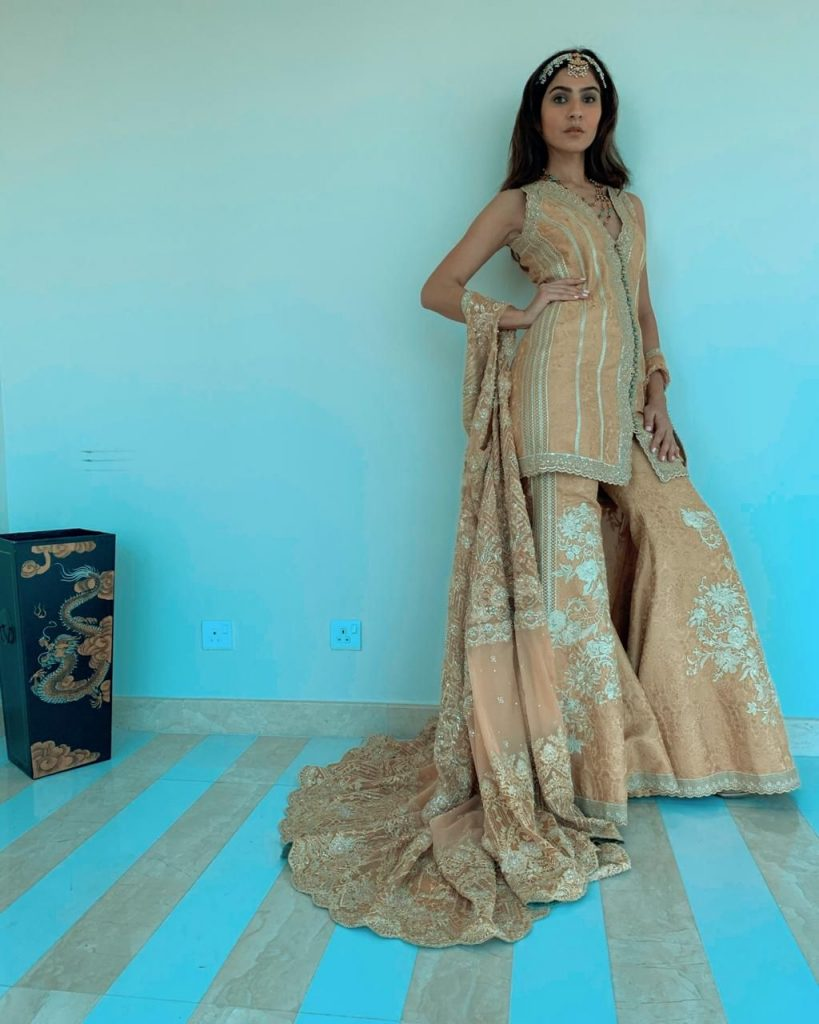 Faraz Manan's collection in Pakistan's first virtual fashion week.